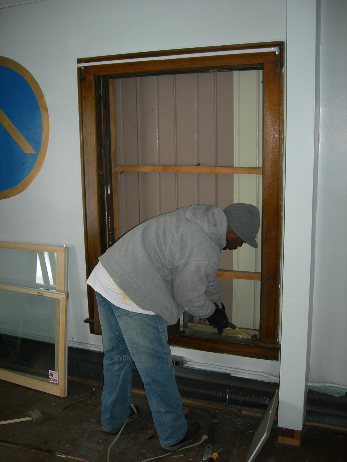 Window Replacement: Double Hung Window Replacement Tracks #174467